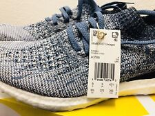 adidas UltraBOOST Uncaged Parley Grey Chalk Pearl Blue Spirit Men AC7590 Sz 9.5