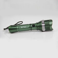CREE T6 LED Torch Light Military Hunting Flashlight Lamp Free Charger 1800LM