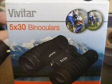 Vivitar Classic Pocket 5 x 30 Binoculars With Case - New - Sealed!