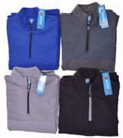 PGA Tour Mens Fleece 1/4 Zip Golf Moisture Absorption Jacket Choose Color & Size