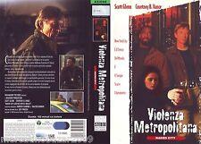 VIOLENZA METROPOLITANA Naked City (1998) VHS ORIGINALE 1ª EDIZIONE INEDITA IN HV