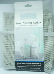 Home Solutions Mesh Shower Caddy Water-resistant Mesh.