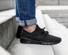 Nike Men's Stefan Janoski Max Triple Black Size 8.5 Uk 43 Eu [631303-099]