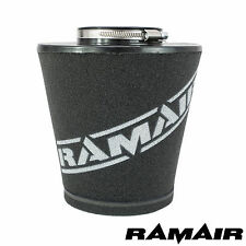 Ramair large 80MM cou voiture universel cône mousse filtre à air pour induction kits