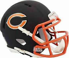 Riddell Chicago Bears Black Matte Alternate Speed Mini Football Helmet