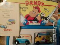 CORGI CLASSICS 98759 - 'DANDY' GIFT SET - MORRIS J + BEDFORD CA VANS - AS PHOTO
