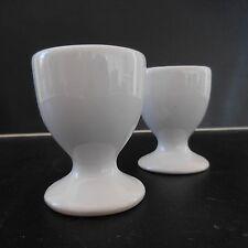 2 coquetiers en céramique porcelaine vintage art-déco fait main