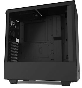 NZXT H510 Mid Tower Gaming PC Case - Black