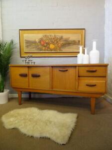 Mid Century Vintage Retro 60s 70s Teak JENTIQUE Sideboard Cabinet Unit Danish