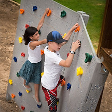 10 Pack - Kids Rock Climbing Holds, w Mounting Hardware, Wall Climb Accessories