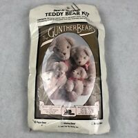Vintage Gunther Bears Sew It Yourself Teddy Bear Kit Papa 1985 Arts Crafts New