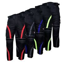 Motorbike Motorcycle Waterproof Cordura Textile Trousers Pants Armours 5 Colours