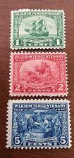 1920 Pilgrim Tercentenary Stamps Issue (548-550)--M,OG,NH--DELAY*