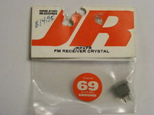 JR #JRPXFR FM RECEIVER Crystal  75.870MHz - Ch69 GROUND