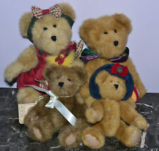 4 Boyds Bears incl. Archive Chester Bearsworth, Friend in Jesus
