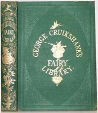 c.1865 George Cruikshank's Fairy Library Cinderella Jack Bean Stock Puss n Boots