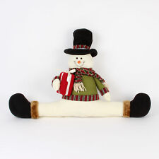 Widdop Sitting Snowman Christmas Festive Draught Excluder Door Stopper 22""