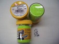 Berkley Power Bait Trout Bait Glitter Chartreuse 3 x 50g-Glas 100g/6,66€