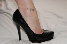 Premium 'CUCK' Cuckold Anklet Ankle Chain Jewellery Sissy Wimp Fetish BBC Watch