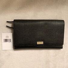 Kate Spade New York Women��s Black Riverside Street Phoenix Travel Wallet Clutch