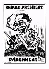 CPA Lardie caricature - Chirac Président de la Correze évidemment! (285381)