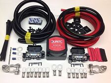 5mtr Professional Split Charge Kit Durite 12v 140amp Relay 110amp Cables T4 T5