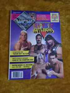 WCW Magazine December 1993 - Sid, Rude, Cactus, Dustin,  Steamboat cover