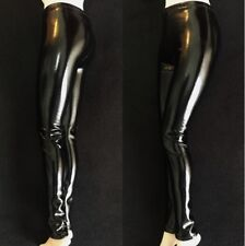 """1/6 Scale Soldier Clothes Female Stretch Leather Pants Leggings F 12"""" PH Body"""
