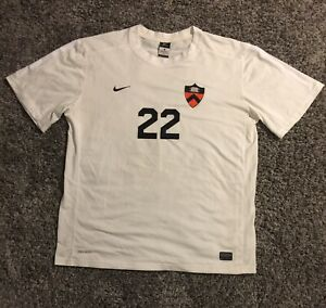 Authentic Game Worn Princeton Tigers Soccer Jersey Men's Size XL NIKE #22