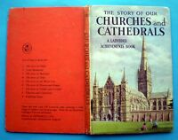 The Story Of Our Churches And Cathedrals Ladybird vintage book architecture 2'6