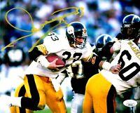 Merrill Hoge autographed signed 8x10 photo NFL Pittsburgh Steelers JSA COA