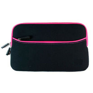 For Samsung Galaxy Tab 4 7.0 Inch Neoprene Zipper Sleeve Case Cover, Hot Pink