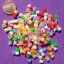 250 x Mixed Tube Beads, Key Rings, Craft, Jewellery making,Pony Bead,Spacer