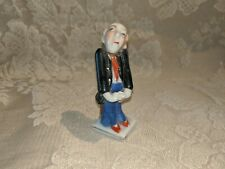 Vintage Figurine Old Man Buttler Made In Occupied Japan