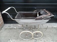 Vintage Silver Cross Brown Pram - In Need In TLC