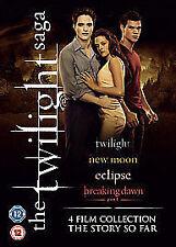 Twilight Saga - Quad Pack (DVD, 2012, 4-Disc Set, Box Set)