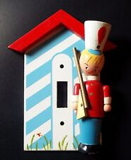 VINTAGE TOY SOLDIER SWITCHPLATE CHILDREN'S ROOM NEW OLD STOCK