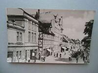 Ansichtskarte Salzwedel 1961 Straße der Freundschaft Hotel Schwarzer Adler