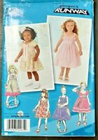 Simplicity 2265 Toddler Girl's Dress in 2 Lengths Size 1/2 to 3 (Uncut Pattern)