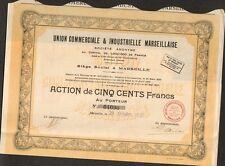 Union Commerciale & Industrielle Marseillaise (MARSEILLE 13) (H)
