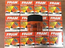 NEW LOT OF 12 GENUINE Engine Oil Filter-Extra Guard Fram PH2 FOR Ford