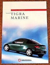 1997 vauxhall tigra marine 1.4i & 1.6i sales brochure-édition spéciale modèle