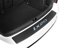 Ladekantenschutz Carbon -Chrom Style für Hyundai ix20 Carbonfolie mit Schriftzug