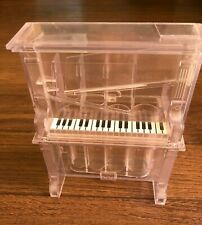 New ListingPiano Coin Sorter Bank ~ Clear Plastic