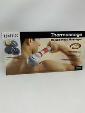 Homedics Hand Held Vibrating Heat Massager Thermassage Deluxe With Heat Therapy