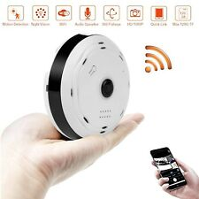 BlueHills White Compact Security Camera -Ceiling ,Walls , via App in Cell phone