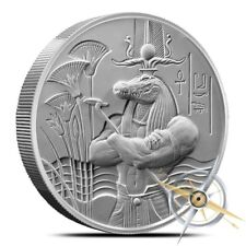 Egyptian Gods Series Sobek Ultra High Relief 2 oz Silver BU Round Coin IN-STOCK!