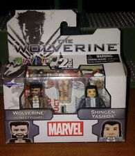 Marvel Minimates The Wolverine 2 pk Wolverine (Street Fight) and Shingen Yashida