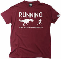 Running Some Motivation Required MENS T-SHIRT birthday funny fashion running