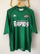 COLORADO RAPIDS MLS 2001 2002 AWAY FOOTBALL SOCCER SHIRT JERSEY KAPPA VINTAGE XL